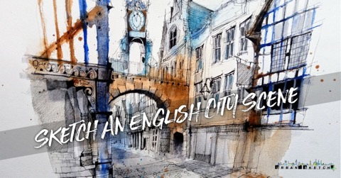 ian fennelly urban sketching chester