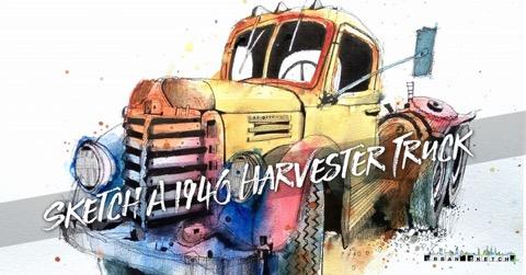 ian fennelly truck sketch